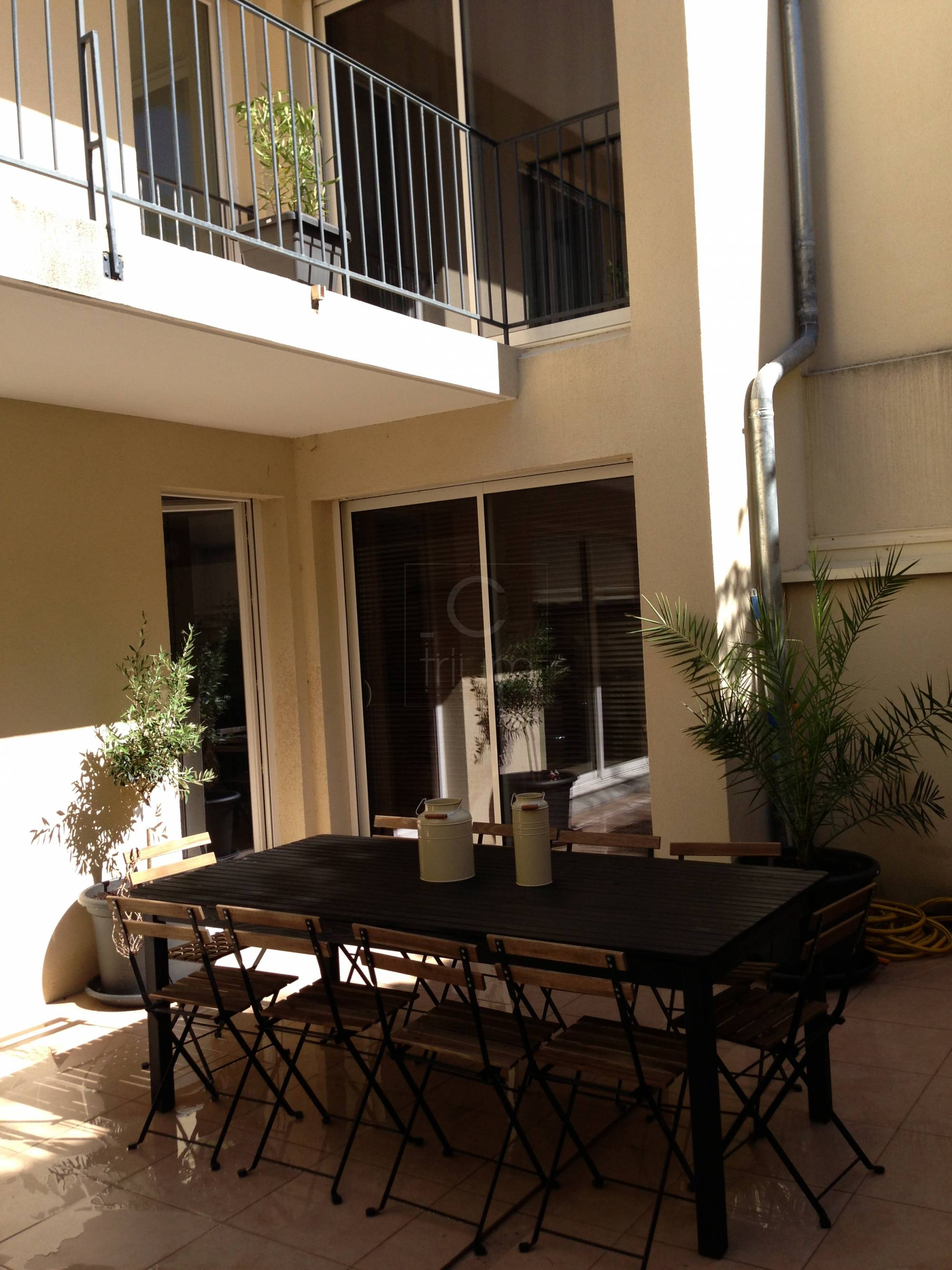 Location appartement t4 f4 marseille 7eme bompard meubl for Location appartement marseille terrasse