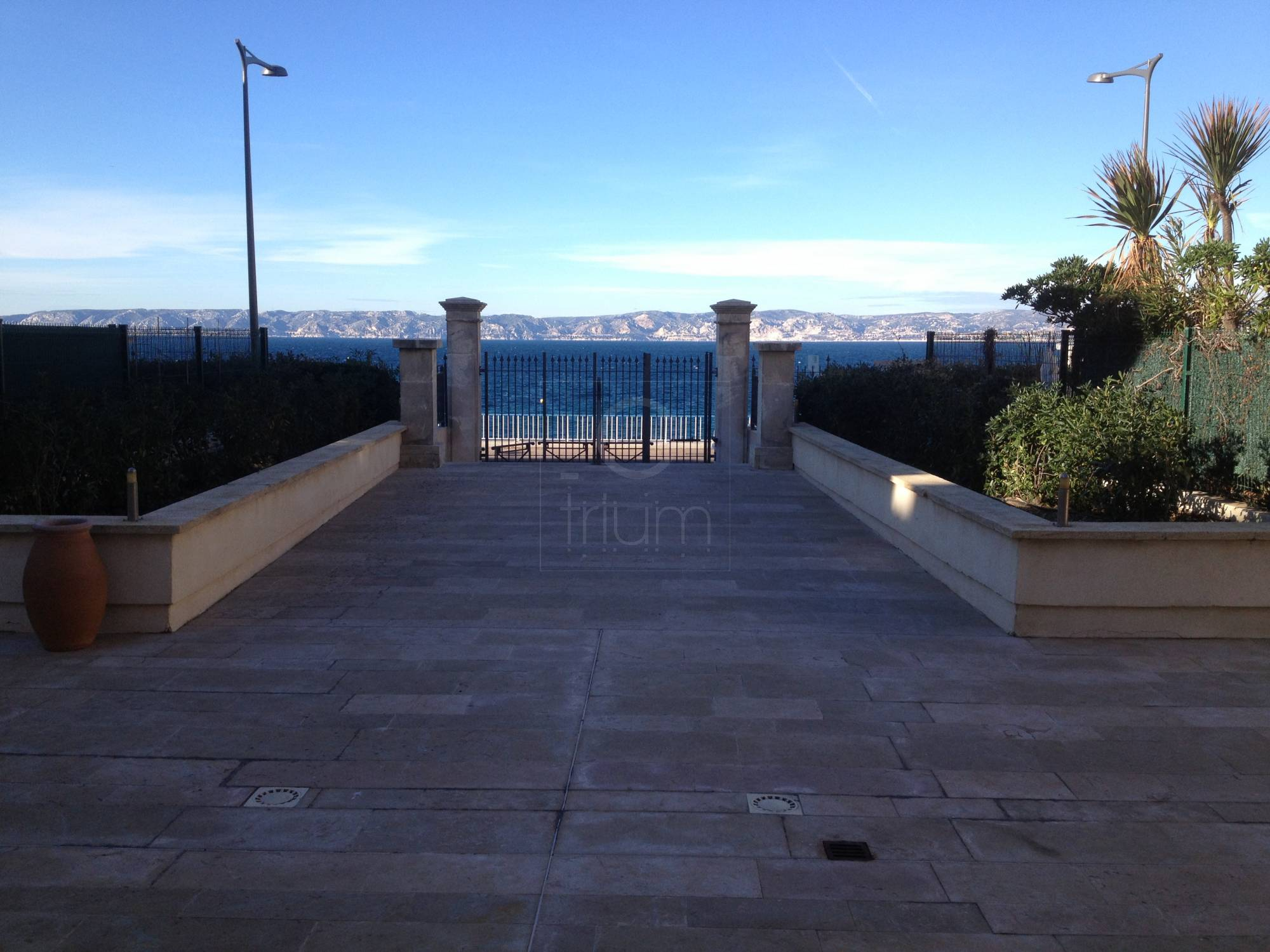 Vente appartement t3 f3 marseille 7eme corniche kennedy for T3 marseille vente