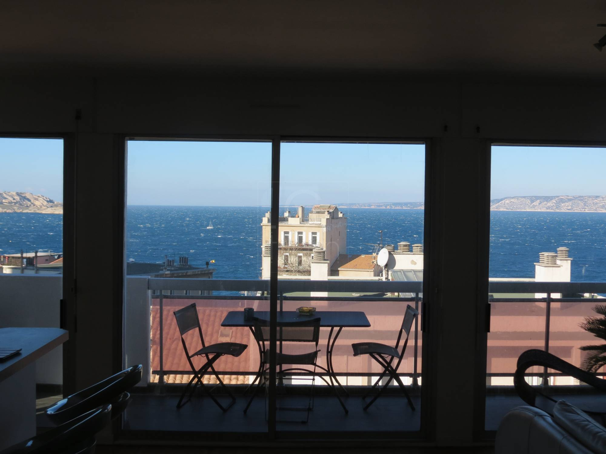 Vente appartement t5 f5 marseille 7eme vallon des auffes for Appartement terrasse 13007