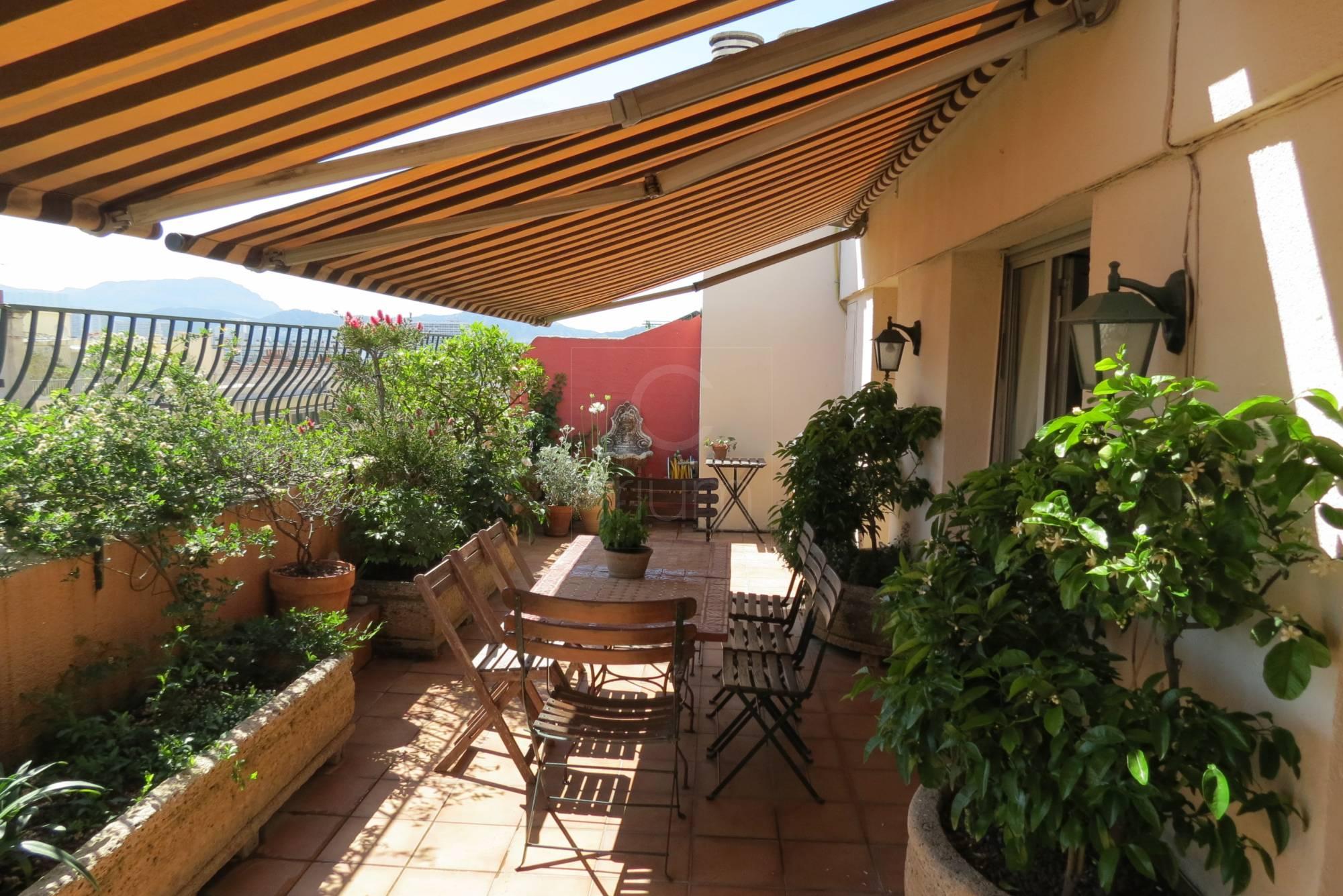 vente appartement t4 f4 marseille 8eme rue paradis toit