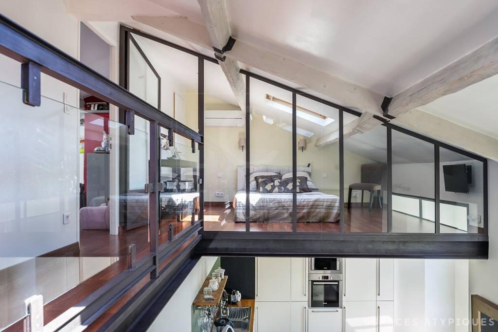 Vente appartement t4 f4 marseille 13007 roucas blanc - Deco appartement duplex contemporain ...