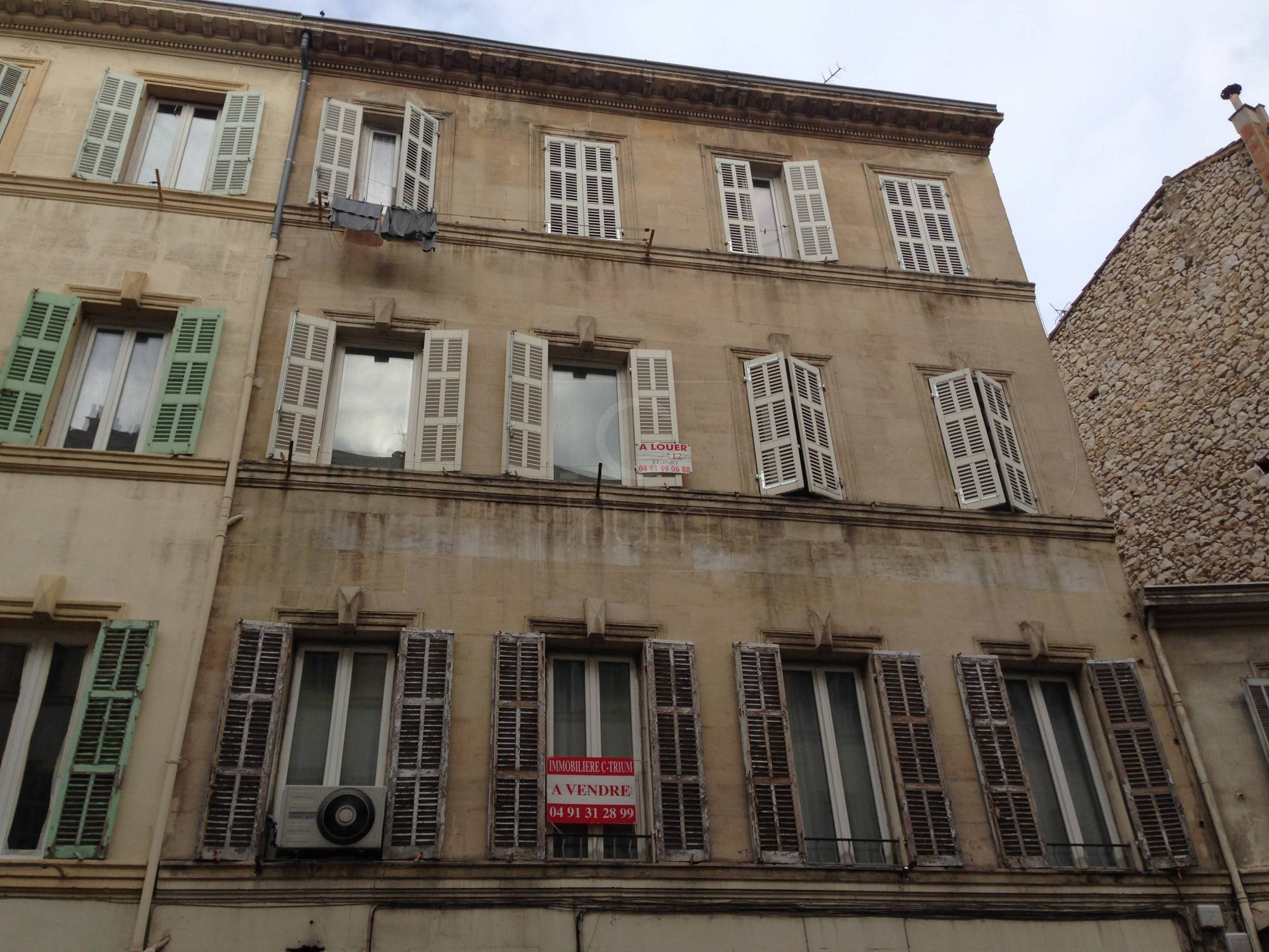 Vente appartement t2 f2 marseille 7eme endoume st lambert for T2 marseille