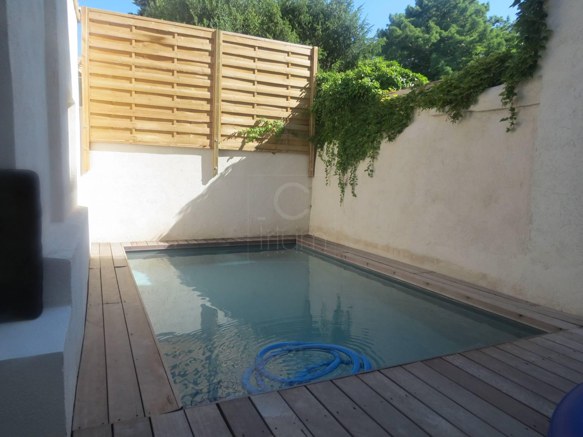Vente Rez de Jardin T5 F5 Marseille 8eme piscine Agence ...