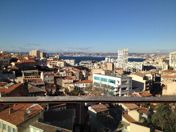 Vente Duplex dernier étage vue mer Marseille 7e
