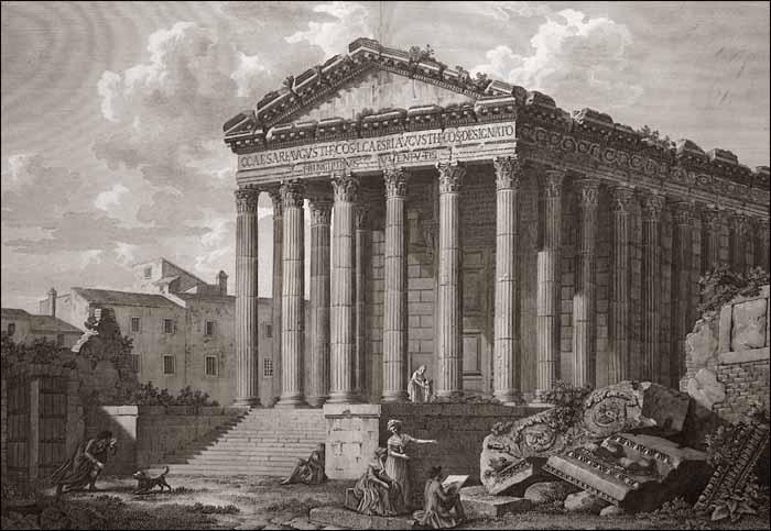 Architecte de Marseille : Charles Louis CLERISSEAU
