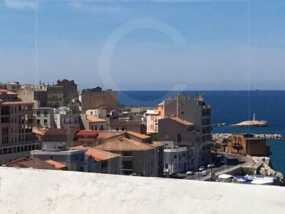 Vente Appartement T1 Marseille Catalans Vue Mer et dernier étages
