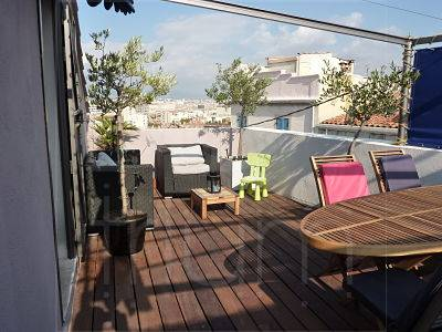 Immobilier appartement avec toit terrasse penthouse for Terrasse marseille immobilier