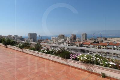 Vente Penthouse T3 Marseille 7eme St Victor Terrasse et vue mer