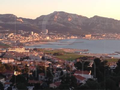 Vente Appartement T4 Marseille 8eme Cadenelle Vue Mer et Ville